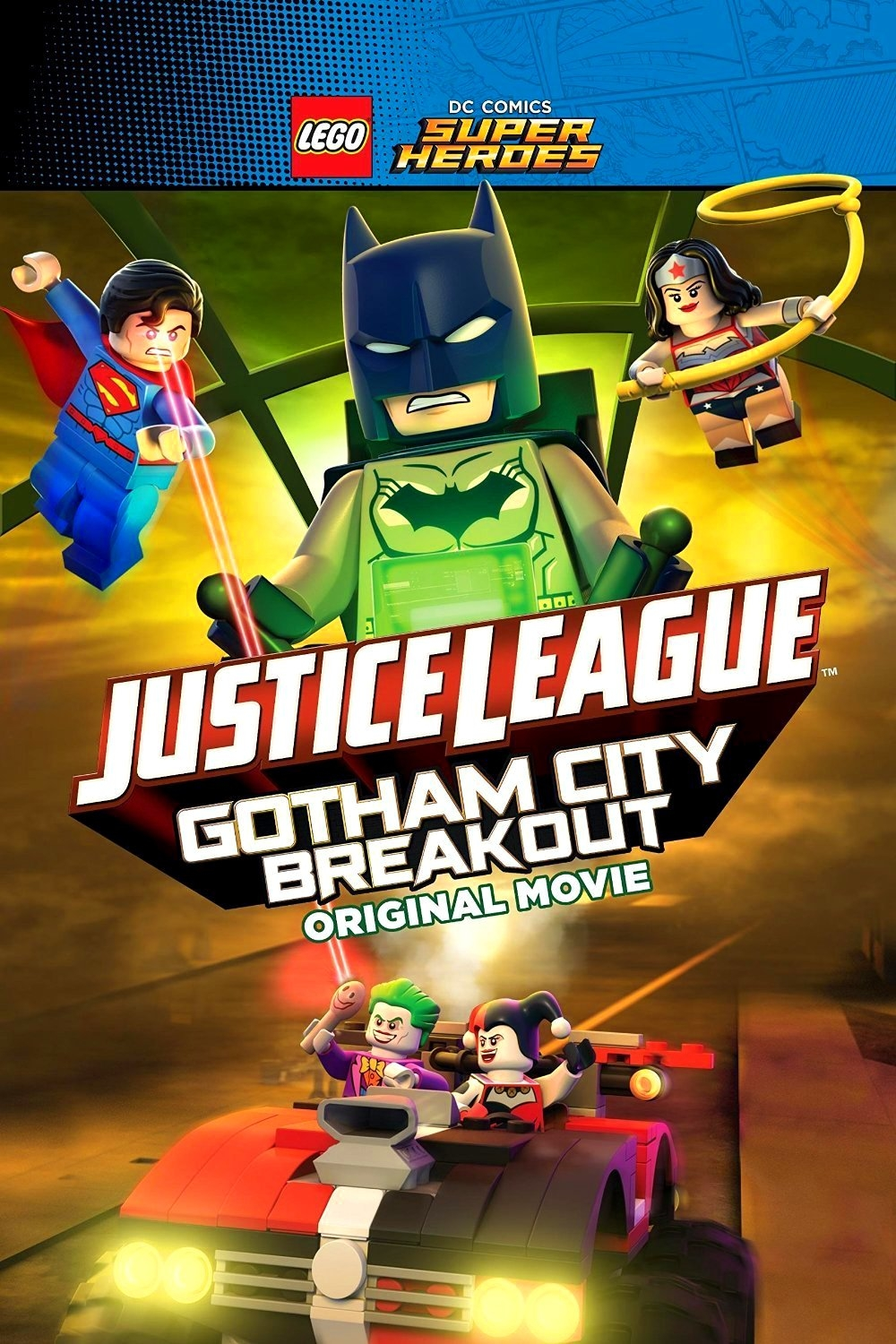 Justice League: Fuga da Gotham City (2016)