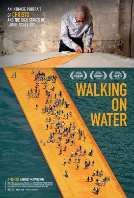 Christo - Walking on water (2018)
